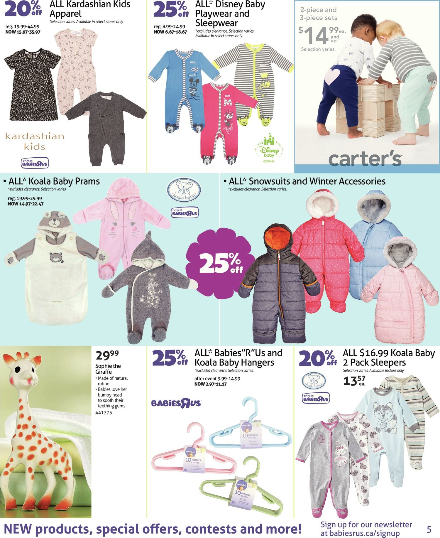 9980b9afd461 Babies R Us Weekly Flyer - 2-Week Sale - Babyfest Sale - Sep 4 – 17 ...