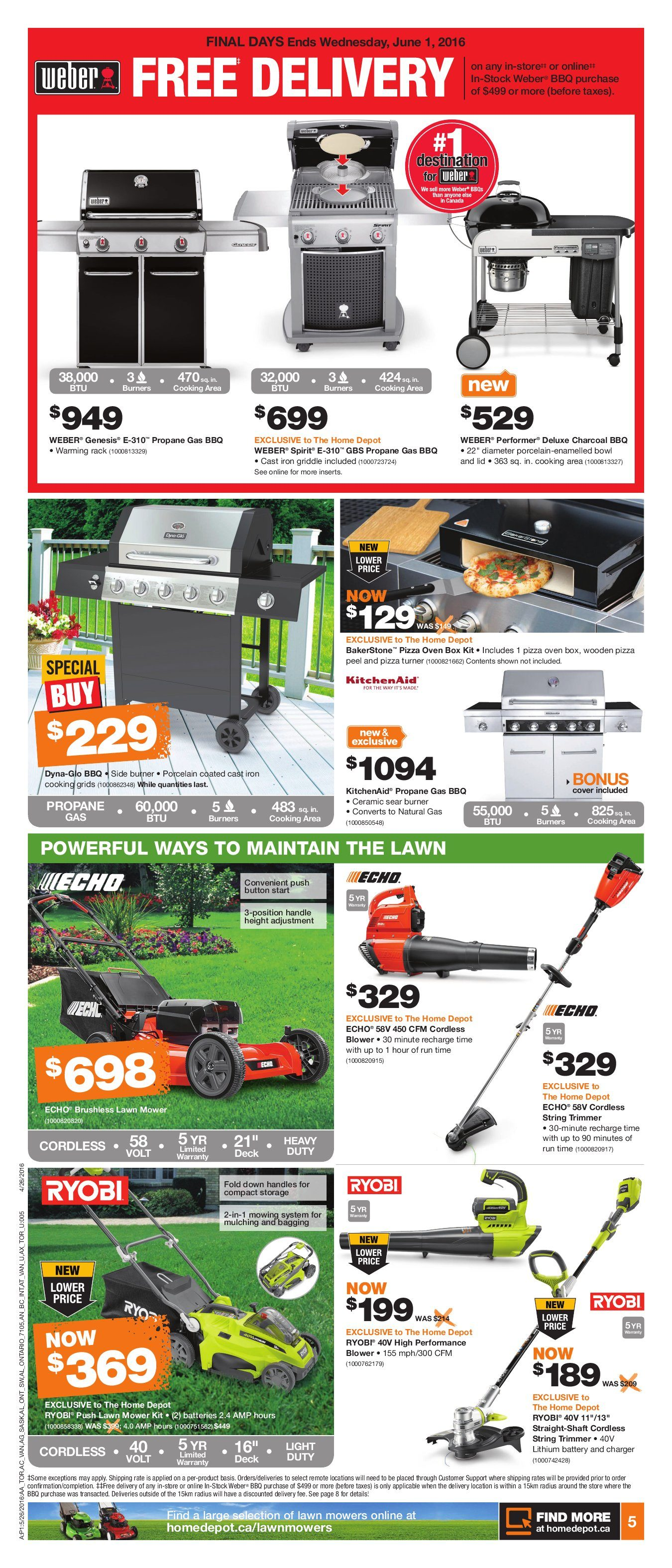 Home Depot Weekly Flyer Weekly Landscape Event May 26 – Jun 1