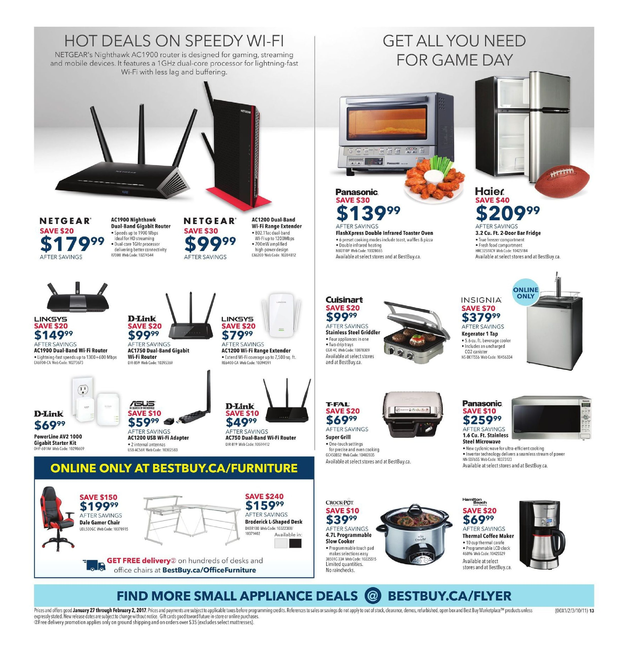 Best Buy Weekly Flyer Go Big For The Game Jan 27 480 Wiring Diagram Ez Workhorse Engine Feb 2
