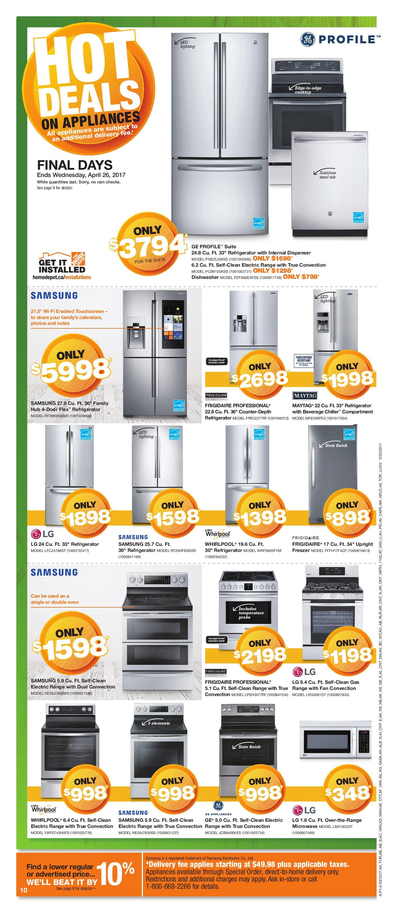 Home Depot Weekly Flyer Weekly Spring Savings Start Here Apr