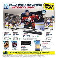 Best Buy - Weekly - Bring Home The Action Flyer