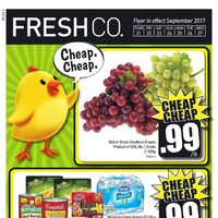 Fresh Co - Weekly Flyer