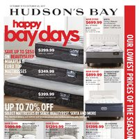 The Bay - Home - Happy Bay Days Flyer