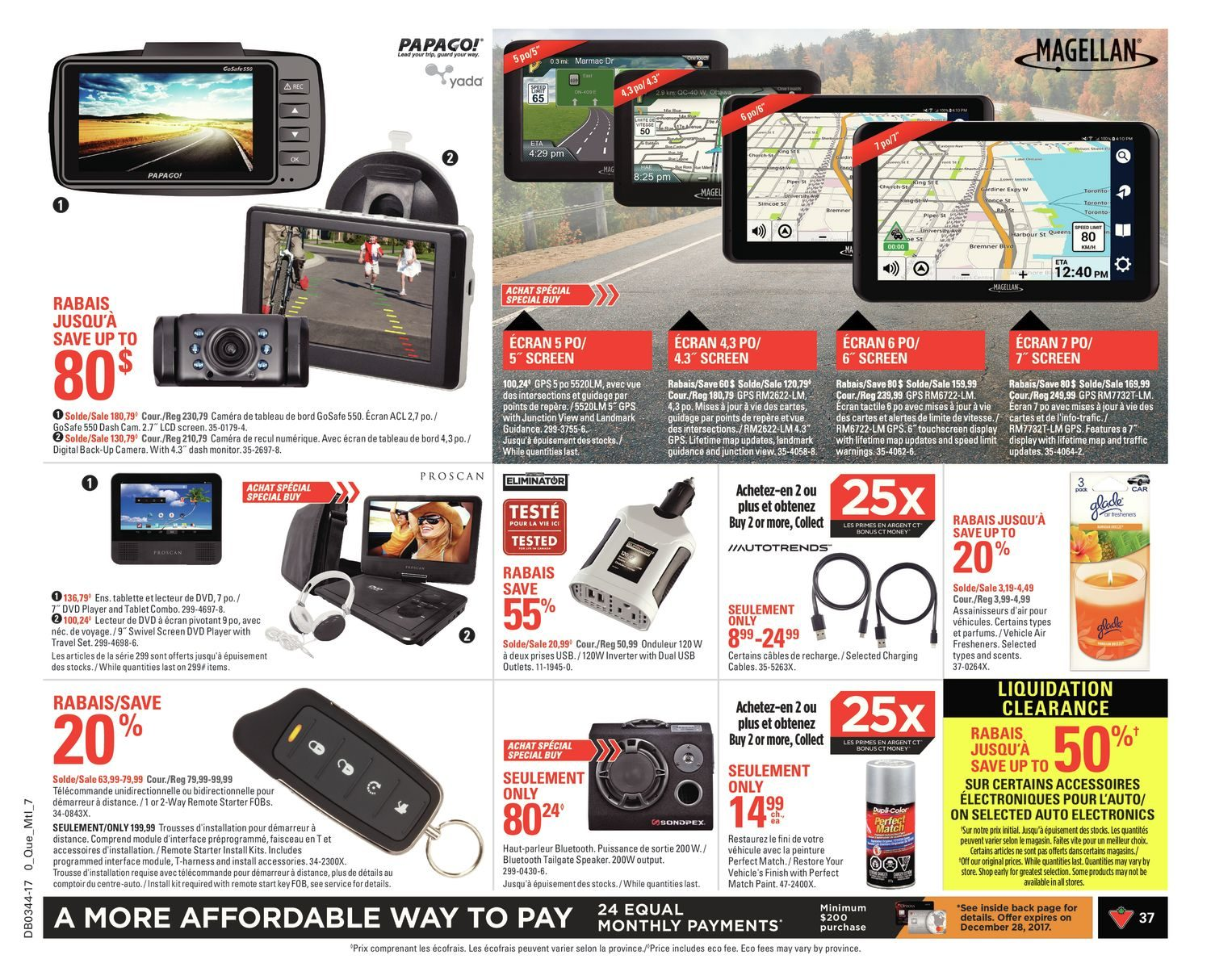 Canadian Tire Weekly Flyer All About Fall Oct 26 Nov Barrel Swivel With Interlock Snap Pioneer No 5 7 1
