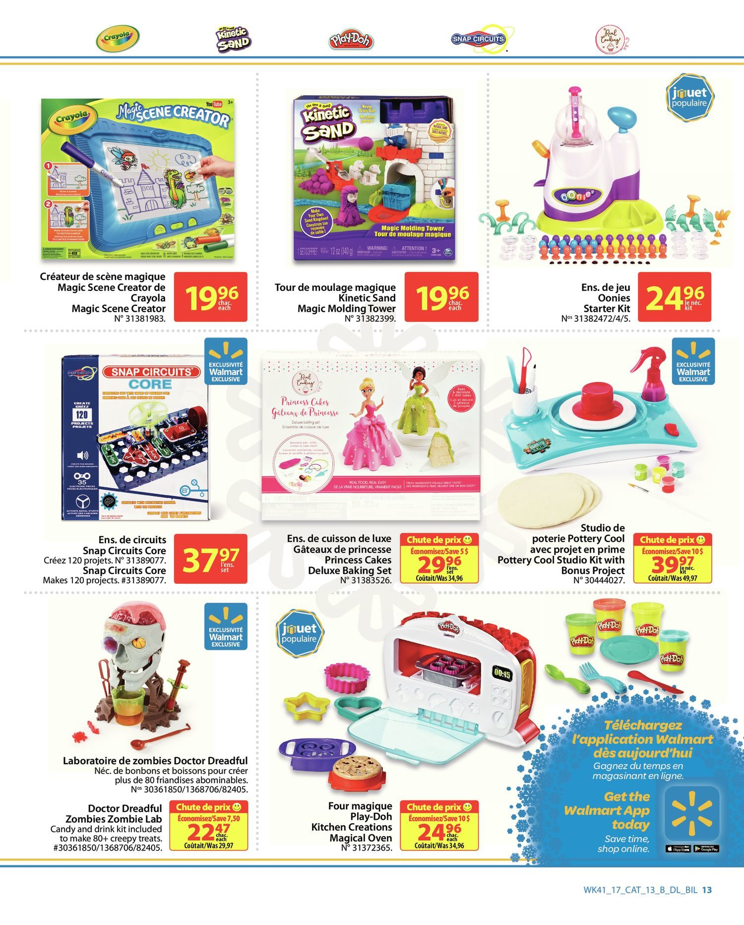 Walmart Weekly Flyer 2017 Holiday Gift Guide Nov 2 15 Snap Circuits Space Battle Kit