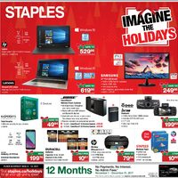 Staples - Weekly - Imagine The Holidays Flyer