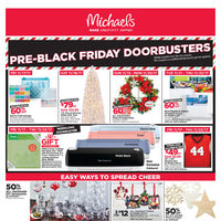 Michaels - Weekly - Pre-Black Friday Doorbusters Flyer