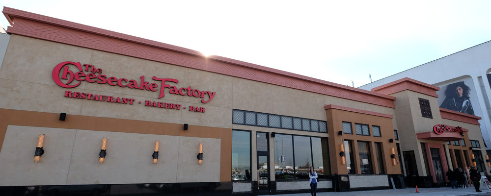 The Toronto Location of the Cheesecake Factory is Open For Business!