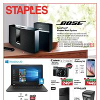 Staples - Tech Guide Flyer