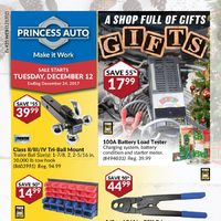 Princess Auto - A Shop Full of Gifts Flyer