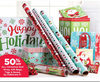 Celebrate It All Christmas Roll Wrap, Gift Bags, Tag & Boxes