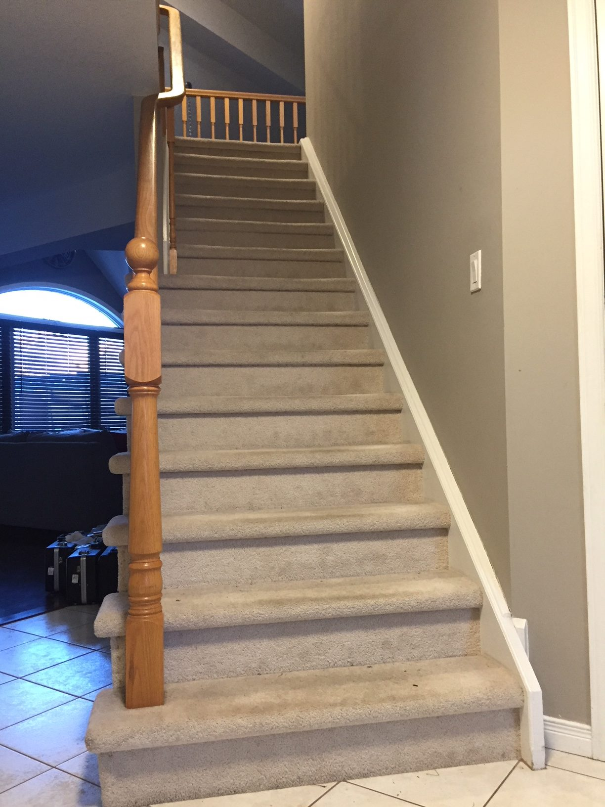 New Indoor Railings For Staircase Ballpark Estimate Redflagdeals Com Forums
