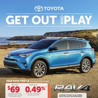 Toyota Canada - Get Out & Play Flyer