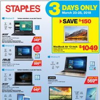 Staples - 2 Weeks of Savings Flyer