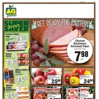 AG Foods - Weekly - Get Ready For Easter Flyer