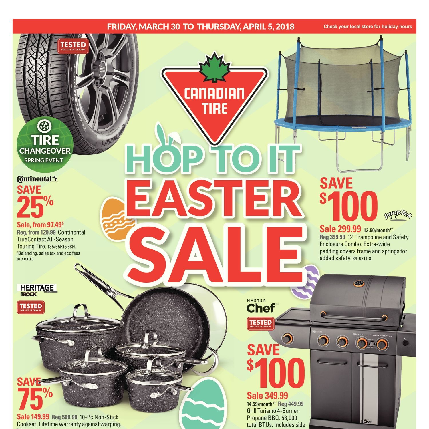 Canadian Tire Weekly Flyer Weekly Hop To It Easter Sale Mar 30