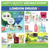 - Earth Month Savings Event Flyer