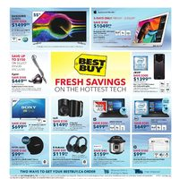 Best Buy - Weekly - Fresh Savings On The Hottest Tech Flyer