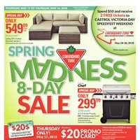 Canadian Tire - Spring Madness 8-Day Sale Flyer