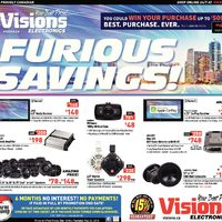 Visions Electronics - Weekly - Furious Savings! Flyer