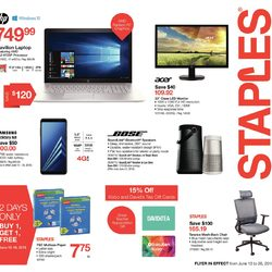 Staples - Online - 2 Weeks of Savings Flyer