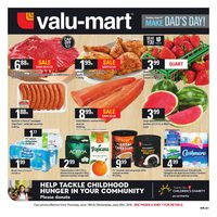 Valu-Mart - Weekly Specials - Make Dad's Day! Flyer