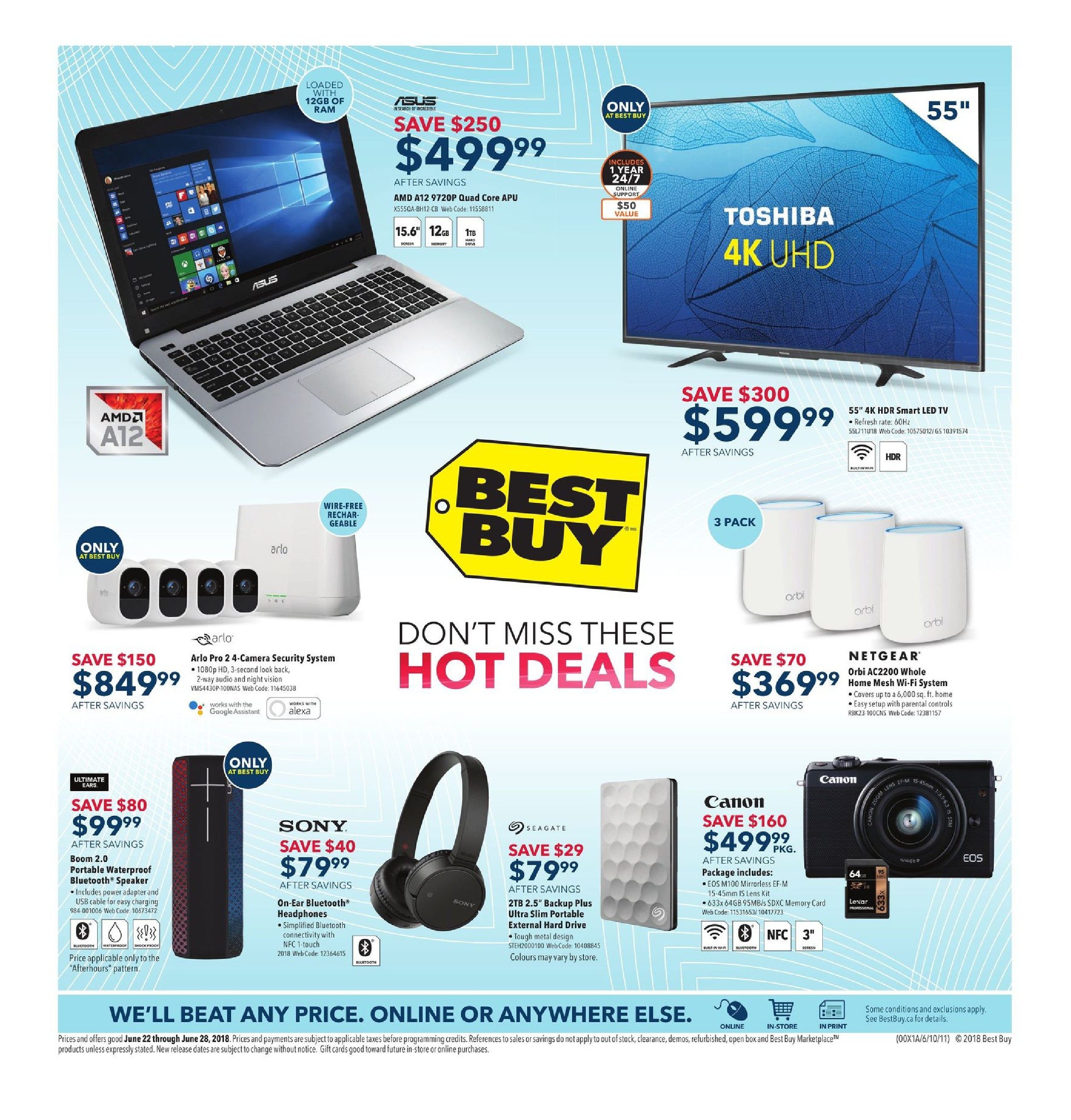 213e437b10f Best Buy Weekly Flyer - Weekly - Don't Miss These Hot Deals - Jun 22 – 28 -  RedFlagDeals.com