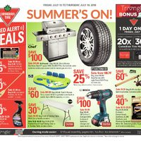 Canadian Tire - Weekly - Summer's On! Flyer