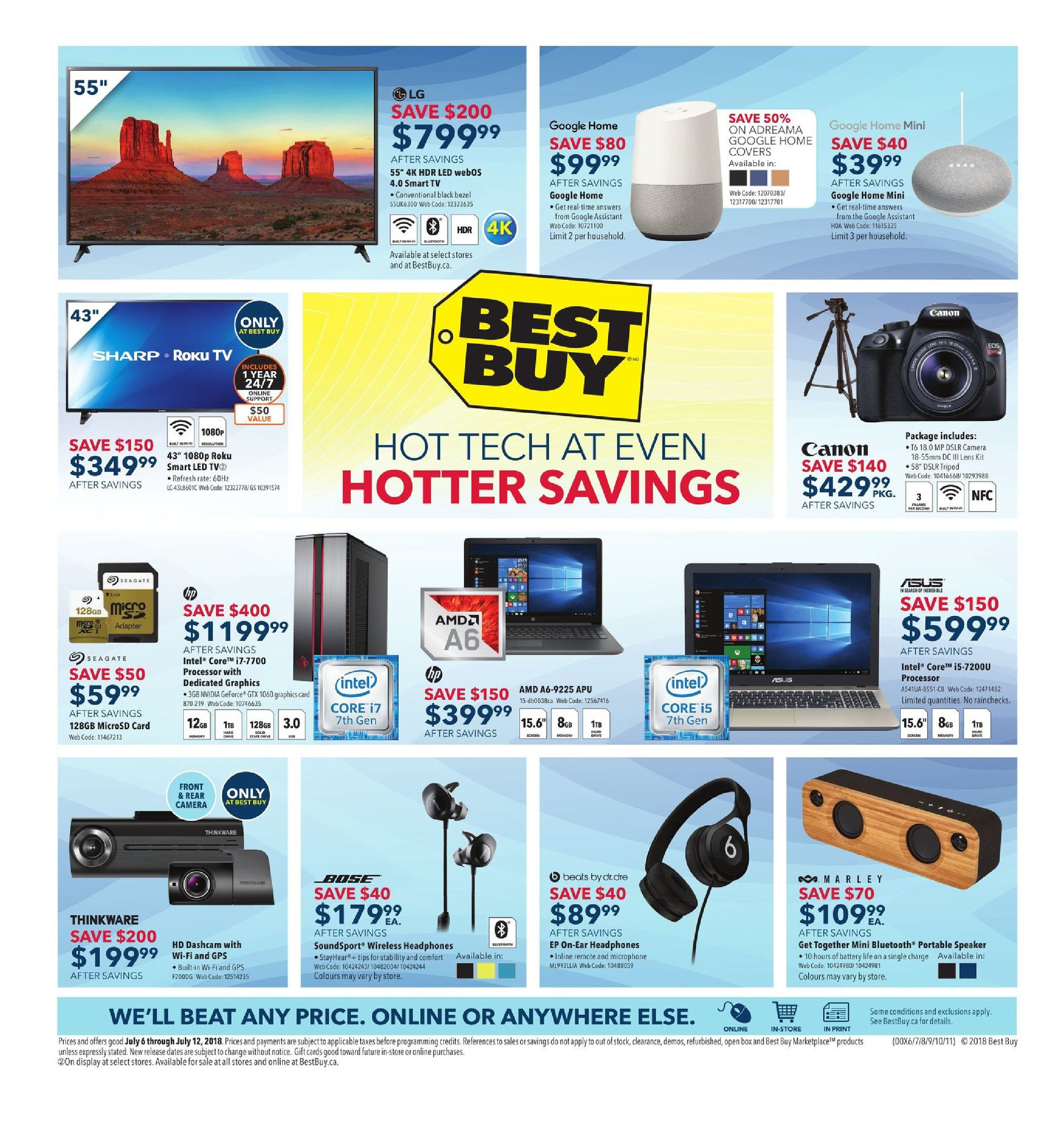 Best Buy Weekly Flyer - Weekly - Hot Tech At Even Hotter
