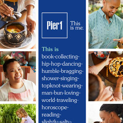 Pier1 Import - Monthly Book - This Is Me Flyer
