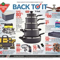 Canadian Tire - Weekly - Back To It Flyer