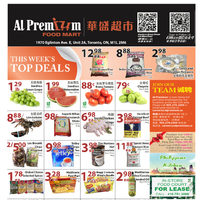 Al Premium Food Mart - Eglinton Location Only - Weekly Specials Flyer