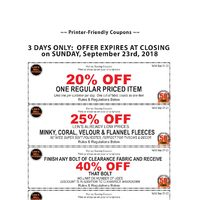 Len's Mill Stores - Printer-Friendly Coupons Flyer