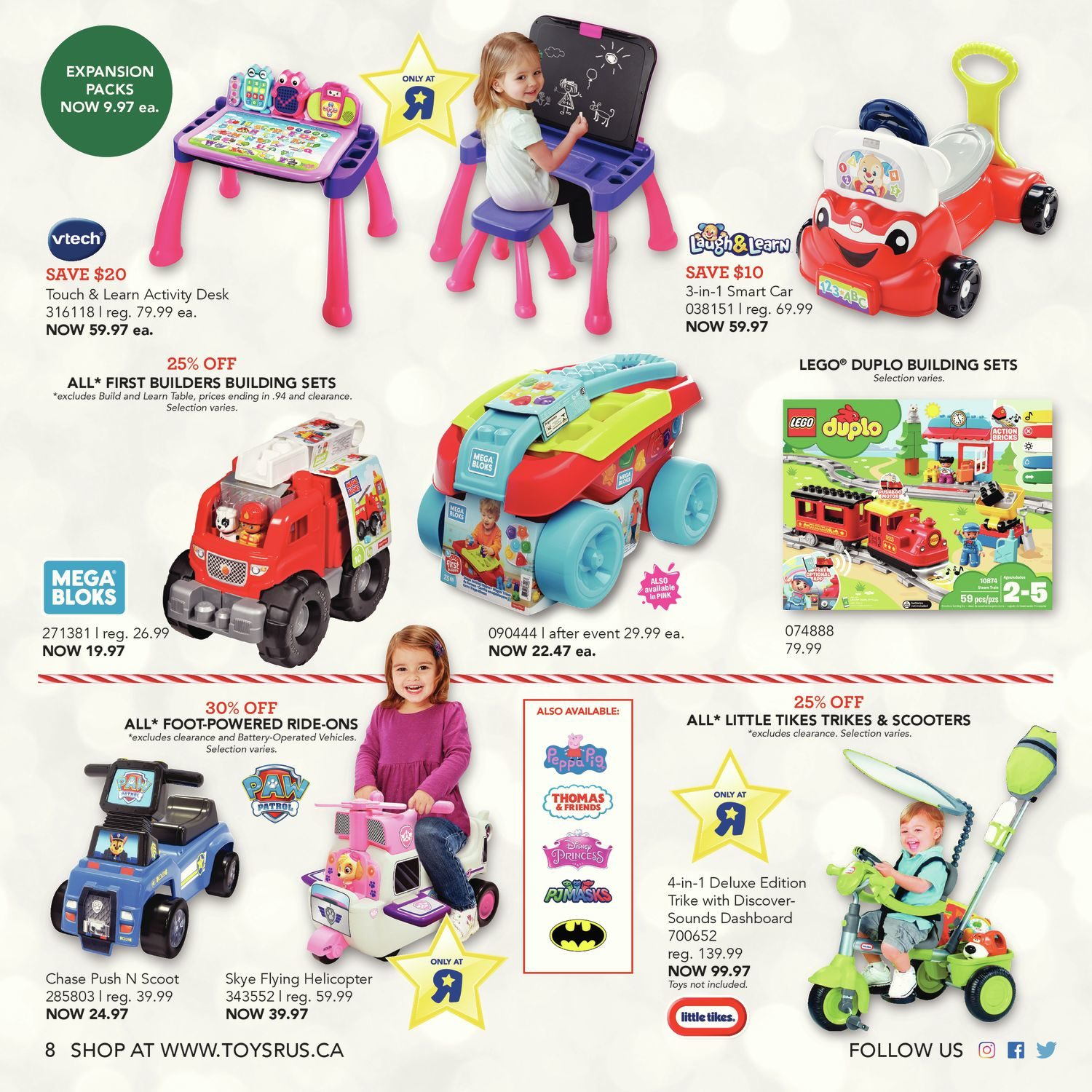 Toys R Us Weekly Flyer Ultimate Toy Guide 2018 Nov 2 15