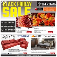 Teletime.ca - Pre-Black Friday Sale Flyer