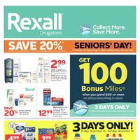 Rexall - Weekly - Healthy Choices. Better Value. Flyer