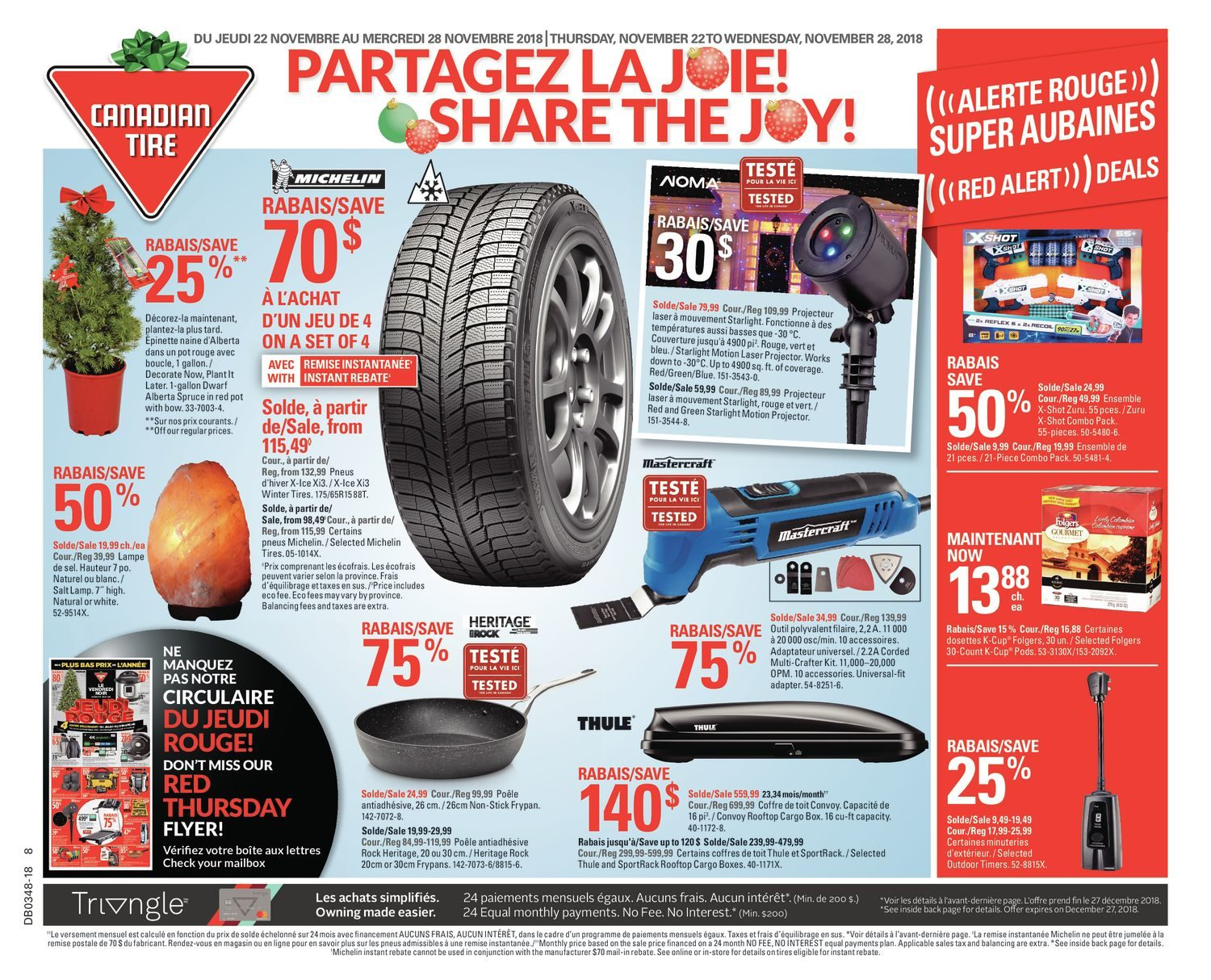 b11a95a5aff Canadian Tire Weekly Flyer - Weekly - Share The Joy! - Nov 22 – 28 -  RedFlagDeals.com