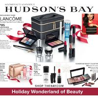The Bay - Holiday Wonderland For Beauty Flyer