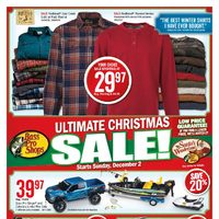 Bass Pro Shops - Ultimate Christmas Sale Flyer