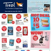 Pet Valu - Tisol - Semi-Annual Clearance Sale! Flyer