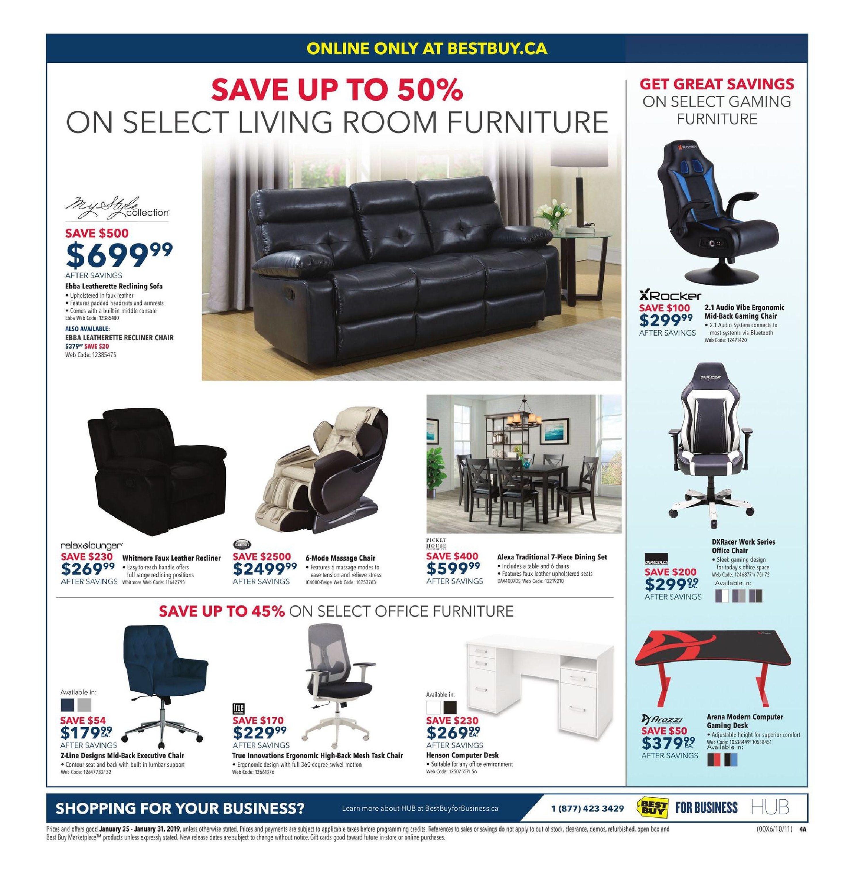 Enjoyable Best Buy Weekly Flyer Weekly Amazing Deals Jan 25 31 Creativecarmelina Interior Chair Design Creativecarmelinacom