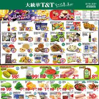 T&T Supermarket - GTA Weekly Specials - Dollar Event Flyer