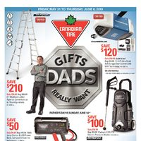 - Gifts Dads Really Want Flyer