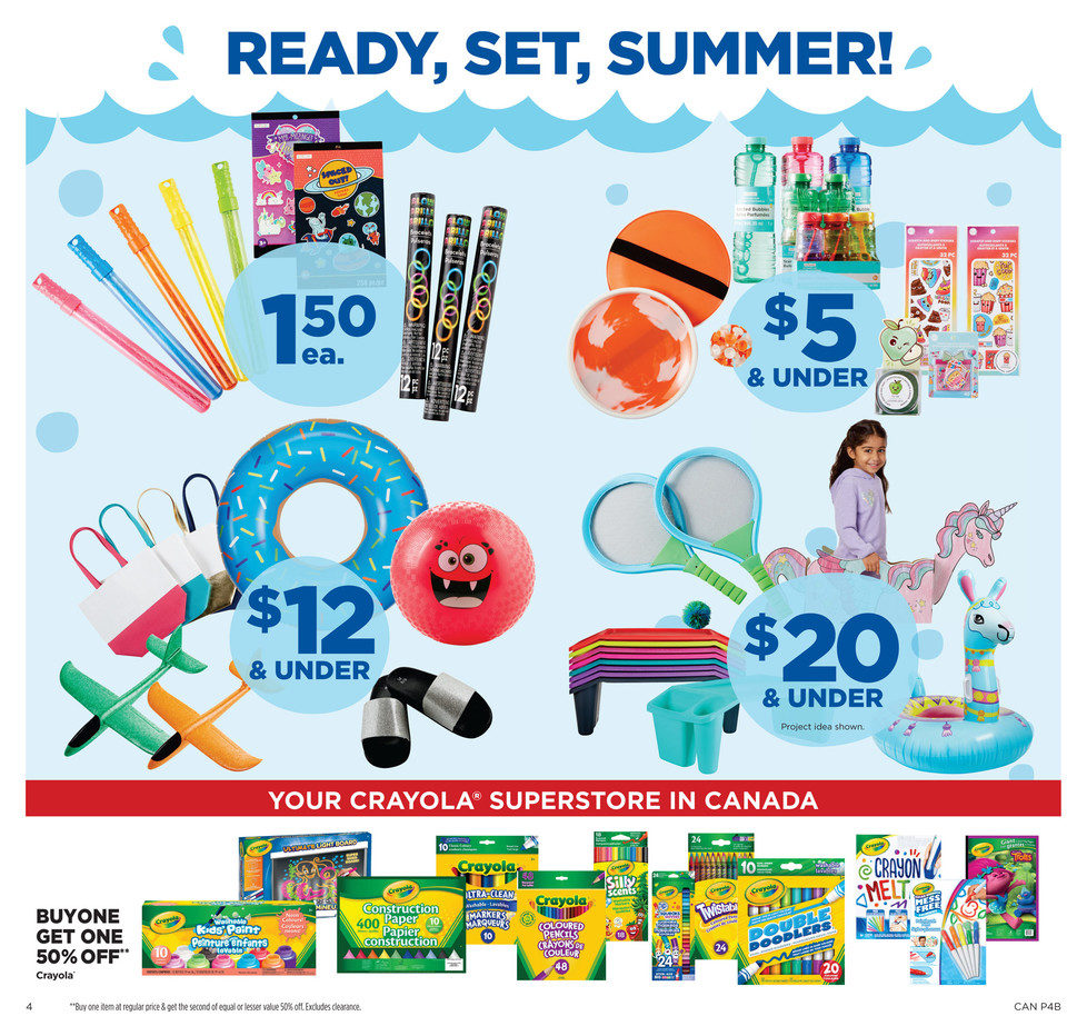 Michaels Weekly Flyer - Weekly - Make Every Day Vacay - May