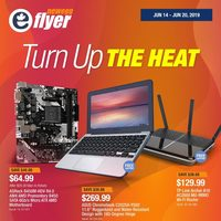 Newegg - Turn Up The Heat Flyer