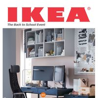 IKEA - The Back to School Event Flyer