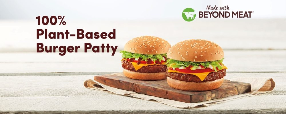 You Can Now Order Beyond Meat Burgers At Tim Hortons
