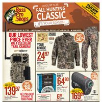 Bass Pro Shops - Fall Hunting Classic! Flyer