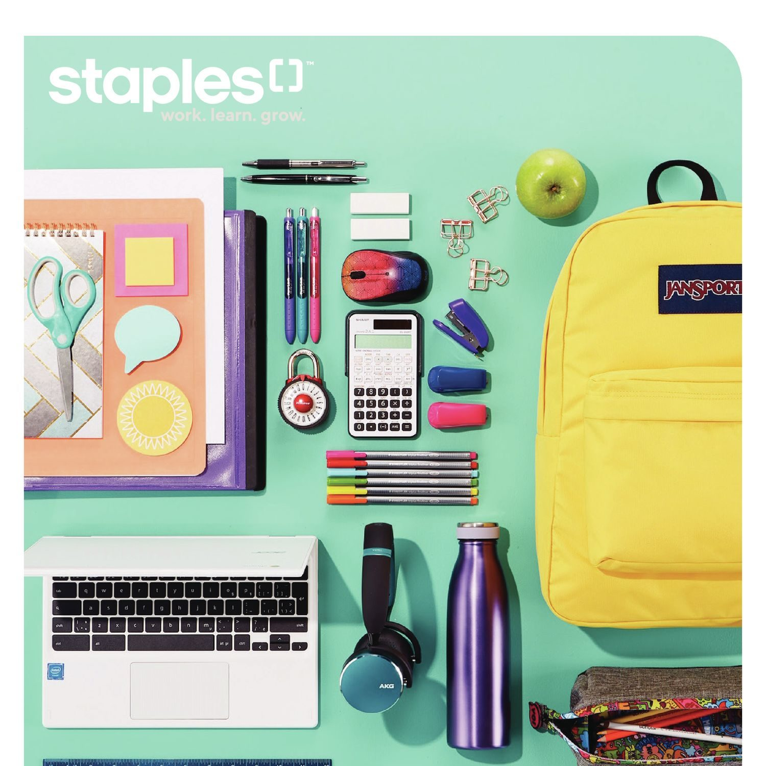 Staples Weekly Flyer - Back To School Guide - Aug 14 – 20