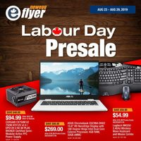 Newegg - Labour Day Presale Flyer
